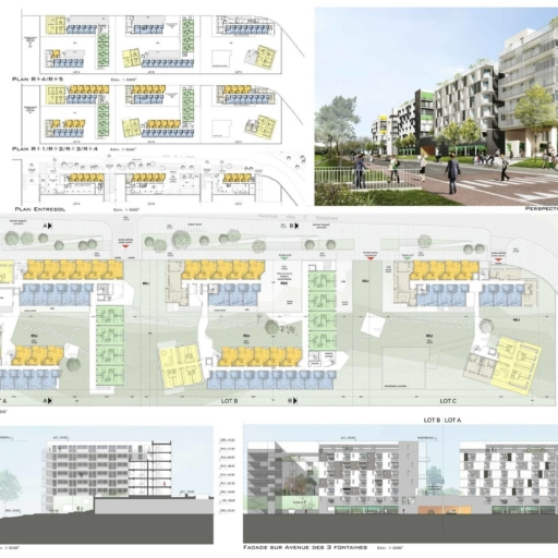 Mathieu Godard Architectures - 570 logements